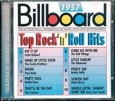 Billboard 1957 top rock 'n' roll hits CD Australie