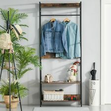 Coat Rack Stand Hall Tree Clothes Organizer Metal Frame for Bedroom Living Room