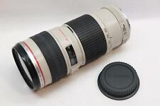 Canon EF, 70-200mm, 1:4 L, Ultrasonic Motor (USM), Zoom Camera DSLR Lens