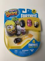 Fortnite Mighty Beanz Rust Lord Bean 4 Pack Collect Roll Fortnite Lover New Gift