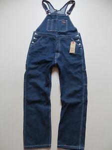 Levi's OVERALLS Latzhose Latz Jeans Hose Gr. L, NEU ! Indigo Vintage Overall !