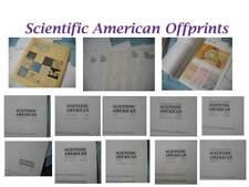 Vintage Scientific American Offprints 1960's - Microbiology