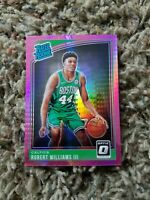 2018-19 Donruss Optic RATED ROOKIE Robert Williams III HYPER PINK PRIZM RC #167