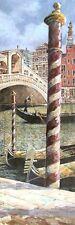 Roy Avis : Afternoon / Venice I Tableau Prêt 30x90 Tableau Mural Venise