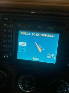 Mercedes ML W163 Cd Player Radio Sat Nav TV Command Head Unit A1638203689