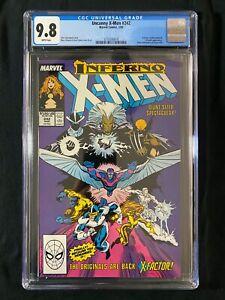 Uncanny X-Men #242 CGC 9.8 (1989) - X-Factor app