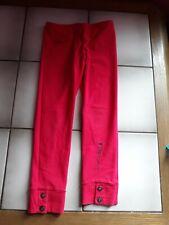 New listing Girl's Boboli red leggings 4 years old