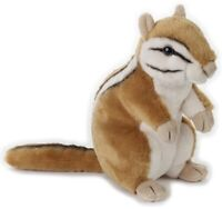NATIONAL GEOGRAPHIC CHIPMUNK PLUSH SOFT TOY 23CM STUFFED ANIMAL - BNWT