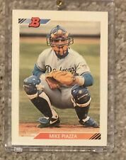 New listing 1992 Bowman Mike Piazza Los Angeles Dodgers #461 Baseball Card