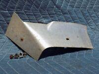 Transmission Exhaust Heat Shield RH Passenger Footwell w/ Bolts 1990 C4 Corvette