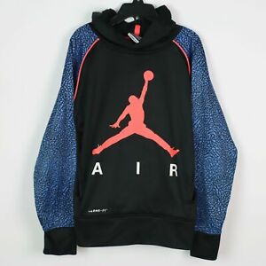 NIKE Air Jordan Therma-Fit Boys Hoodie SMALL 8/9