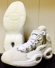 RARE BAIT X REEBOK QUESTION ICE COLD MENS 8.5 DS IVERSON i3 COLLABORATION WHITE