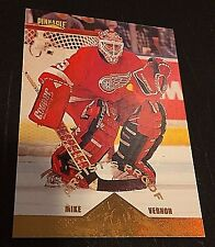 MIKE VERNON 1996-97 Pinnacle ARTIST'S PROOF Parallel SP  #16 Rare HTF Red Wings