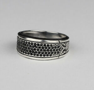Handmade pure 925 sterling SILVER rings unisex sizes engagement wedding RRP £30
