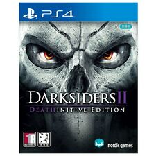 Darksiders 2 (2016, PS4) Deathinitive Korean Edition / Package