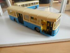 Norev Saviem Autobus SC10U in White/Light Blue on 1:43