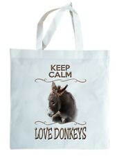 DONKEY GIFT TOTE BAG, re-usable shopper. Cute Donkey Gift. Can be personalised
