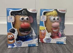 Playskool Friends! Mr. & Mrs. Potato Head Classic Retro Toys Complete Set! NEW!