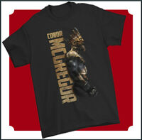 CONOR MCGREGOR T-SHIRT Notorious MMA UFC Mixed Martial Arts Irish Fighter Whisky