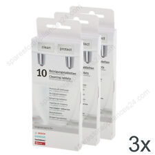 3X BOSCH SIEMENS 311769 CLEANING TABLETS FOR COFFEE MACHINE 310575 311771 310655