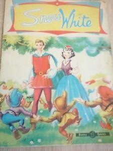 snow white vintage book