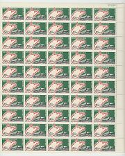 sheet of 50 WEST VIRGINIA / STATEHOOD stamps - Scott #1232 MNH 5 cents 1963