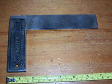 "Vintage Stanley USA metal set square 6"" used see details"