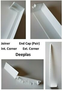 Fascia / Capping Board Accessories Joiner Internal / External Corner End Cap