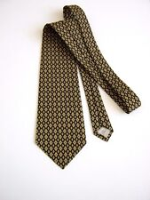 100%  PURA SETA PURE SILK CRAVATTA TIE MADE IN ITALY