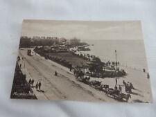 1930 fr Postcard -West End - Morecambe Lancashire - horse & carriages