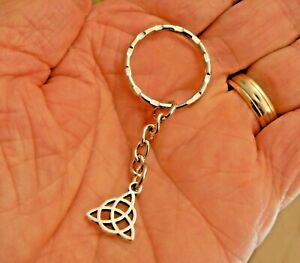 Charmed Power of Three Triquetra Keyring Pru Piper Phoebe Paige CosPlay Gift