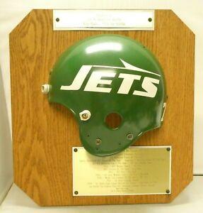 Joe Klecko Game Worn Used Football Award Helmet Given To His Family