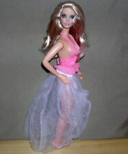 Barbie SILKSTONE SIZE Doll - Blonde Aphrodite Semi-Sheer Skirt Pink Halter