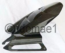 carbon fiber rear hugger fender mudguard Kawasaki Z750 2004-2006