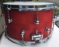 "Red Wine Alder Snare Drum 14"" X 8"" Stave Shell"