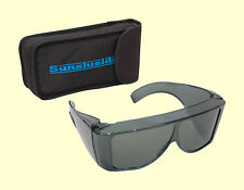 SUNSHIELDS Olympus Sunglasses Driving Moulded Tinted Polarised Lens Fit Over