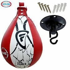 Speed Ball Training Swivel Original Leather Punching Ball Boxing Training Pear