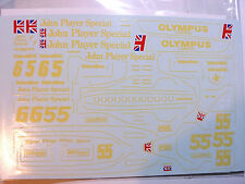 1/20 Lotus 79 JPS Sponsors Decal for Tamiya or Hasegawa n0t Revell Studio 27