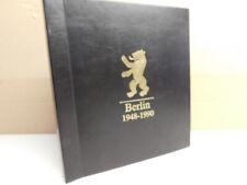Siegeralbum Berlin 1948-1990, gebraucht mit Folienblätter.