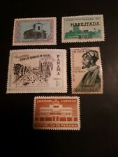 PANAMA 1955-1961, Set of 5 very rare, #398/C248, MNH