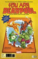 YOU ARE DEADPOOL #2 ESPIN RPG VARIANT MARVEL COMICS HULK MAN-THING DIAZ 5918