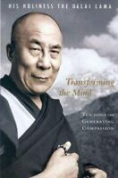 Transforming the Mind by The by Dalai Lama Hardcover Book dali FREE SHIPPING zen