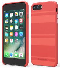 PureGear Deep Coral SOFT-TEK Case Skin Cover for iPhone 8 Plus/7 Plus/6 Plus