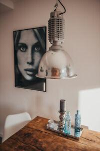 LOFT Lampe ZumTob Alt Gastro Industrie Industrielampe Beleuchtung loftlampe WOW
