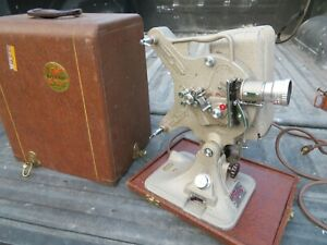 Vintage Keystone A-82 16mm Movie Projector with Case.