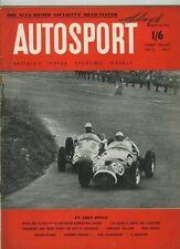 AUTOSPORT AGOSTO 19th 1955 * ALFA ROMEO GIULIETTA TEST & COLIN CHAPMAN *