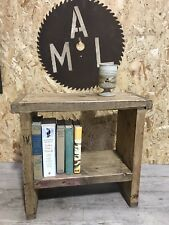 1 Hole Rustic Up-Cycled Stool