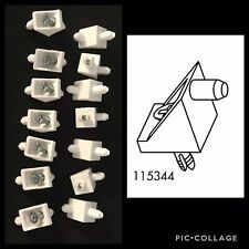 14 x IKEA 101558 White Shelf Support Pins For PAX And KOMPLEMENT