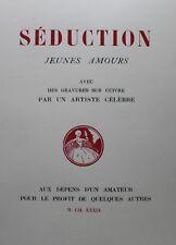 1939 Séduction Superbe illustré moderne érotique Tirage à 99 exemplaires suite