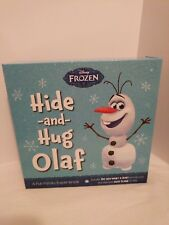 Disney Frozen Hide and Hug Olaf Plush Toy and Book Set - Interactive Experience